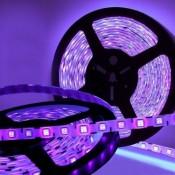 Egyszínű színes LED szalag