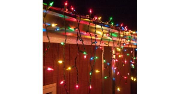 Led fényfüggöny , háló , beltérikültéri , 200 db LED , 2.1