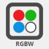RGB (színes) LED izzó