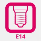 E14 LED izzó (mignon foglalat)