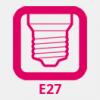 E27 LED izzó (normál foglalat)