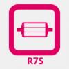 R7S LED vonalizzó
