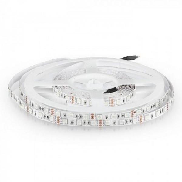 LED szalag , 5050 , 60 led/m , 10,8 W/m , RGB