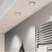 LED panel , 3W , süllyesztett , kerek , meleg fehér , króm keret , IP44 , EGLO , FUEVA 1 , 96242