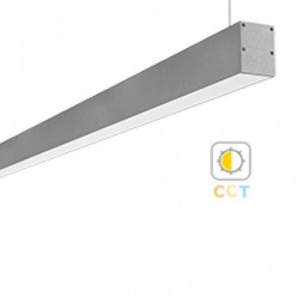 CCT LED lámpatest , lineáris , Mi-Light , 100 cm , 30W , 230V, dimmelhető , függeszthető ,  állítható fehér színárnyalat , SMART