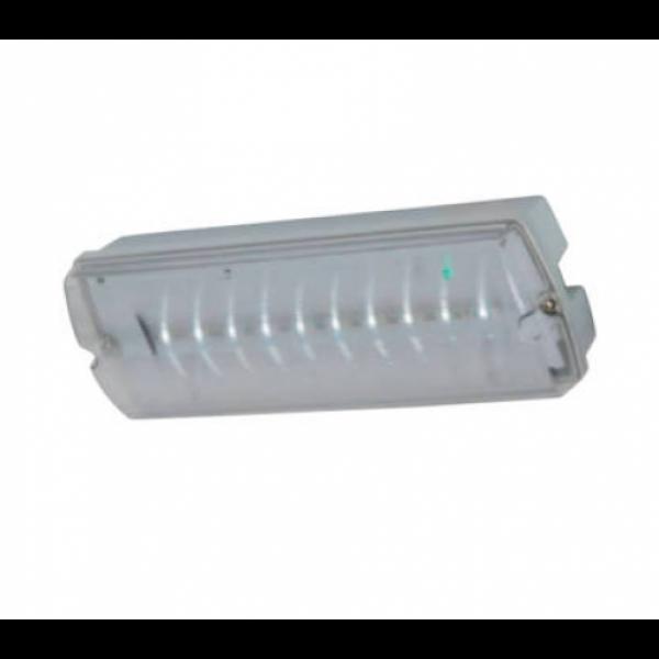 Vészvilágítás , LED lámpa , NEBRASKA , 2 Watt , 3 óra , IP65