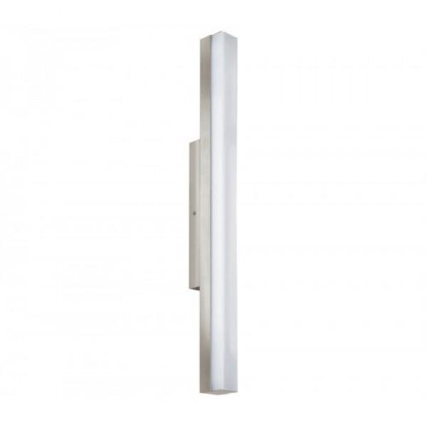 LED lámpatest , tükörvilágítás , 16 Watt , 60 cm , természetes fehér , matt nikkel , IP44 , EGLO , TORRETTA , 94617