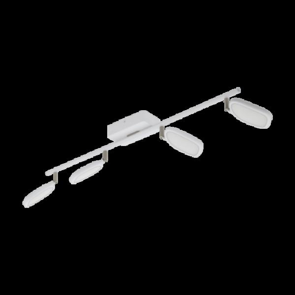 LED lámpatest , mennyezeti , 4 x 5W ,  dimmelhető , RGB , CCT , fehér , EGLO , PALOMBARE-C , 97694