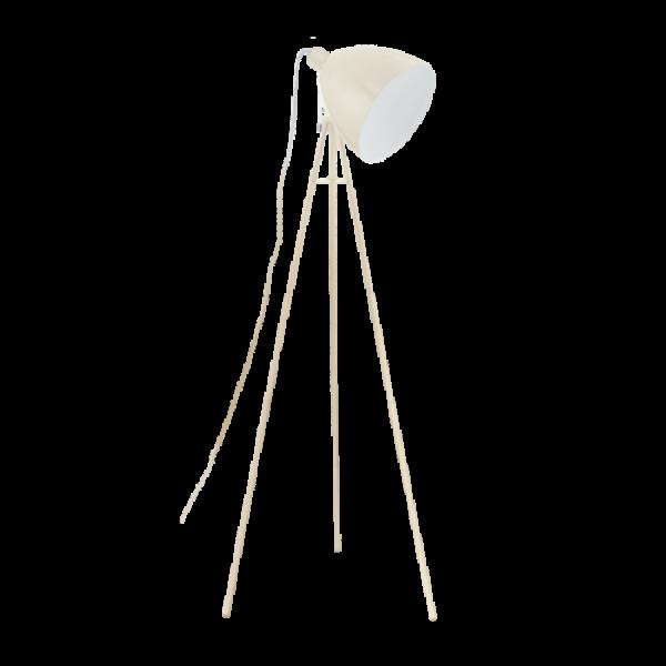 LED lámpa , állólámpa , E27 , homok szín , EGLO , DUNDEE , 49338