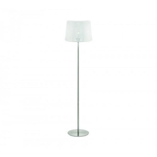 LED lámpa , állólámpa , E27 , matt nikkel , EGLO , HAMBLETON , 49949