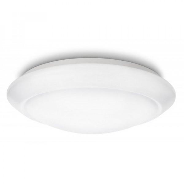 LED lámpatest , mennyezeti , kerek , 6W , természetes fehér , Philips , Cinnabar