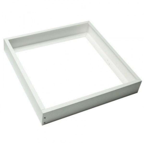 Led panel , beépítő keret , szerelhető , 600 x 600 mm , fehér