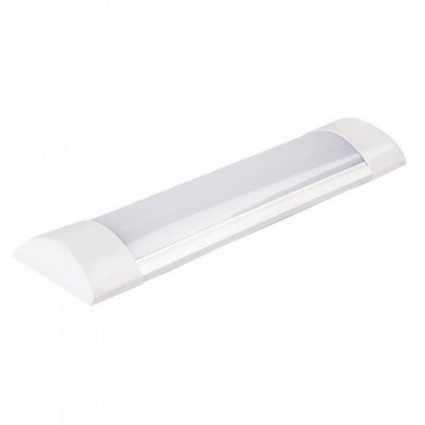 LED lámpatest , 10W , 30 cm , kompakt armatúra , hideg fehér , 120 lm/W (A++) , Samsung Chip , 5 év garancia