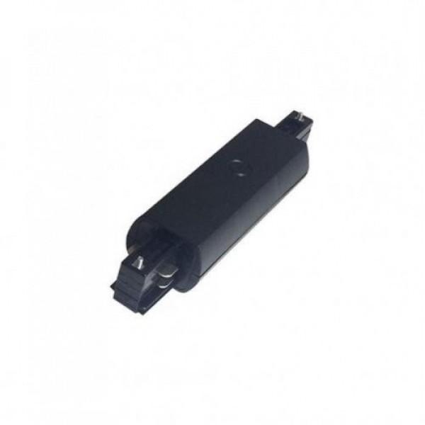 Track light sín adapter , 3 fázisú , 4 pólusú , I típus , fekete