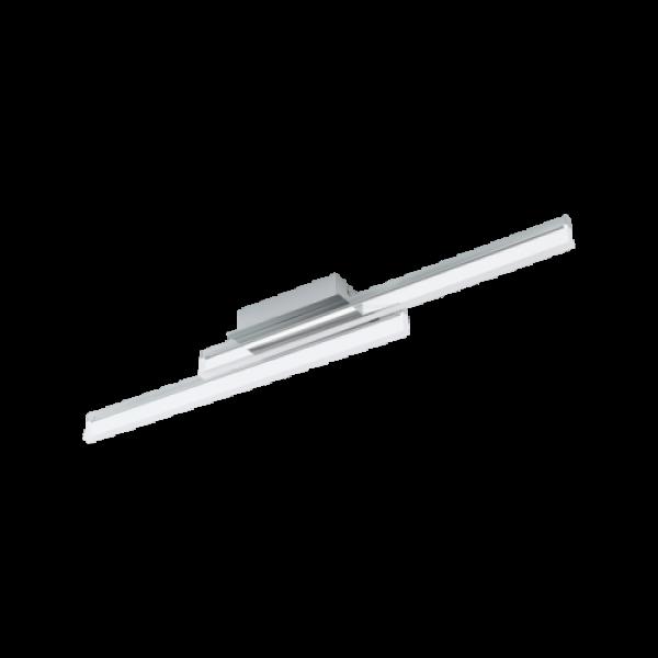 LED lámpatest , fali , 20 Watt , meleg fehér , króm , IP44 , EGLO , PALMITAL , 97965