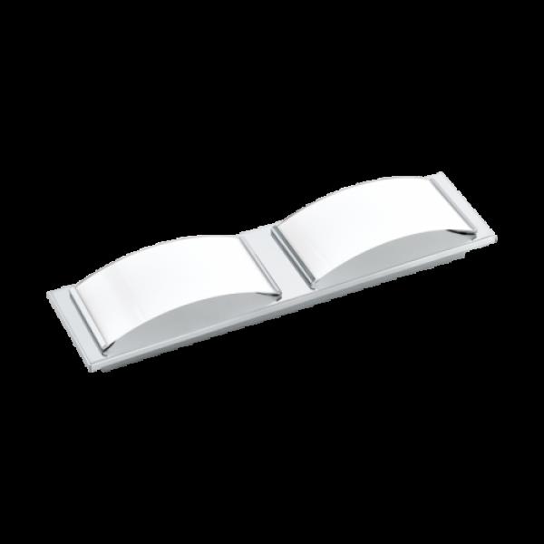 LED lámpatest , mennyezeti/fali , 10.8 Watt , meleg fehér , króm , IP44 , EGLO , WASAO 1 , 94882