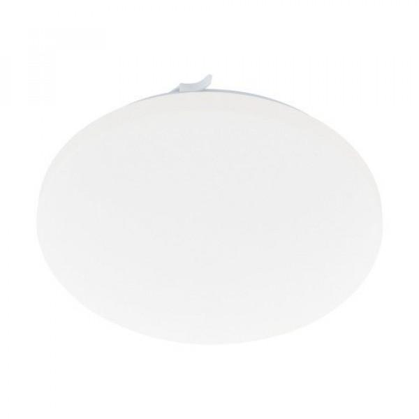 LED lámpatest , mennyezeti/fali , 17.3 Watt , meleg fehér , fehér , IP44 , EGLO , FRANIA , 97884