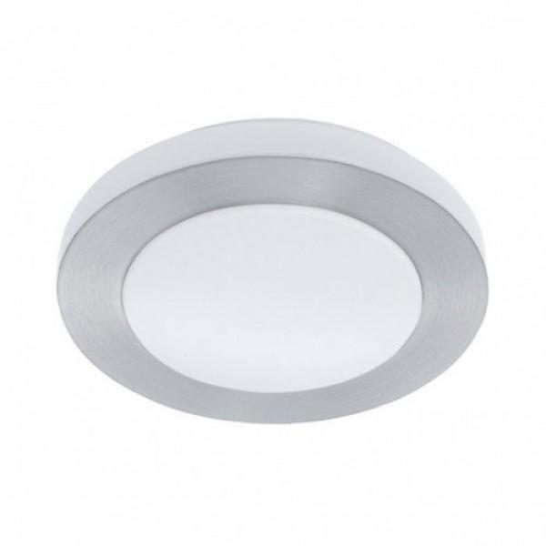 LED lámpatest , mennyezeti , 16 Watt , meleg fehér , matt nikkel , IP44 , EGLO , CARPI , 94968