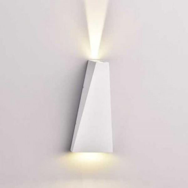 LED lámpatest , oldalfali , négyzet , 6W , természetes fehér , fehér , kültéri , IP65