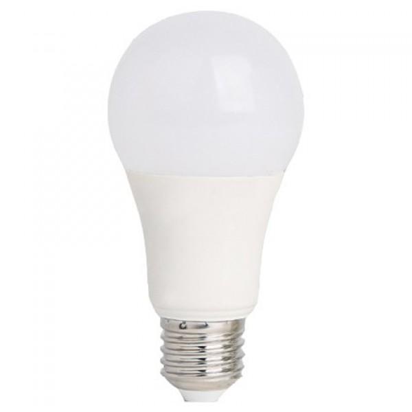LED lámpa , égő , körte ,  E27 foglalat , 10 Watt , meleg fehér, Optonica , akciós
