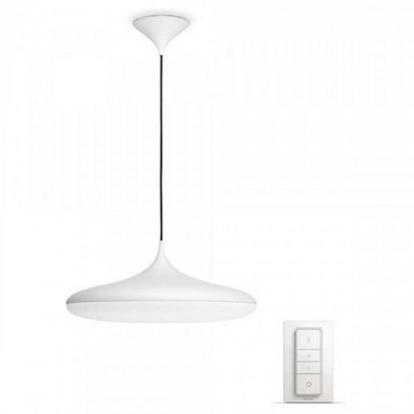 Led lámpatest , Philips Hue , Cher , kerek , függeszték , 39W , DIM Switch fényerőszabályozóval , CCT , dimmelhető , fehér
