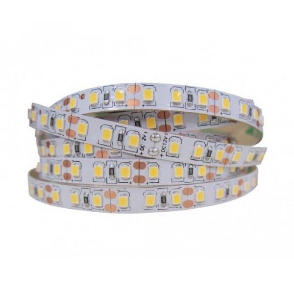 LED szalag , kültéri , 2835 , 120 led/m , 10 Watt/m , természetes fehér, 1200lm/m , LUX , IP65