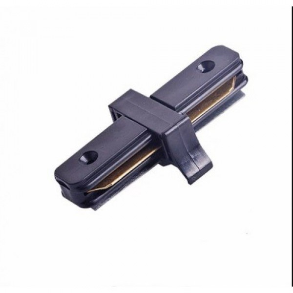 Track light sín adapter , 1 fázisú , 2 pólusú , erősített kivitel , I típus , fekete