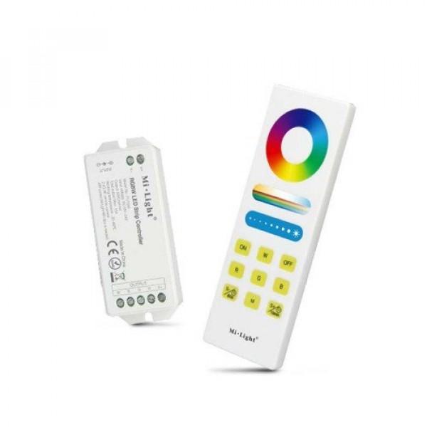 RGBW távirányító , dimmer és vezérlő egy csomagban , MESH