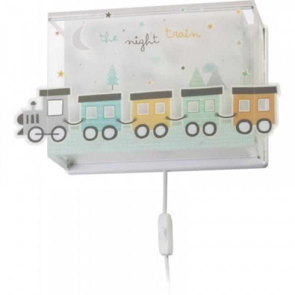 LED lámpa , fali , E27 , DALBER , THE NIGHT TRAIN , 63538