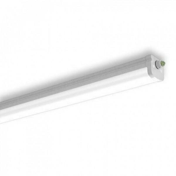 LED lámpatest , 49 Watt , 150 cm , kompakt armatúra , por- és páravédett , IP65 , 6600 lumen , sorolható , természetes fehér , TUNGSRAM , 5 év garancia