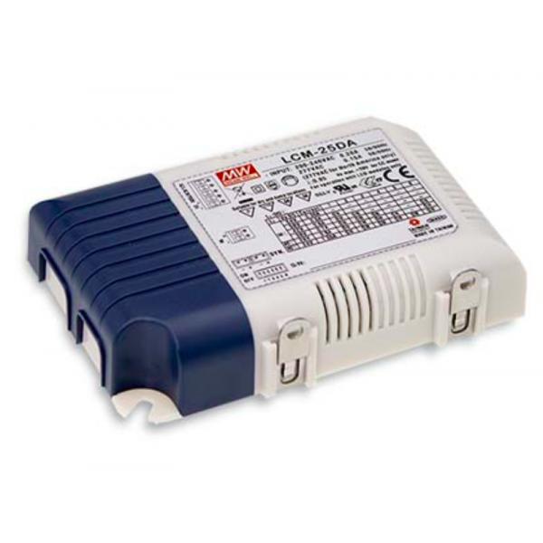 LED tápegység , Mean Well , LCM-40DA , 40 Watt , DALI , áramgenerátoros