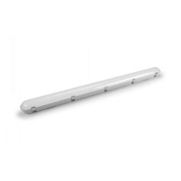 LED lámpatest , 40 Watt , 120 cm , kompakt armatúra , por- és páravédett , A++ , 150 lm/W , 6000 lumen , IP65