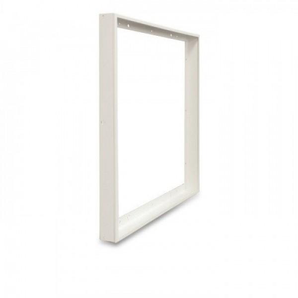 Led panel , beépítő keret , magasított, KLIKK , 600 x 600  x 73 mm , fehér