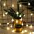 Led fényfüzér , beltéri , 80 db LED , 8.4 m , meleg fehér , távirányítós , elemes , 8 programos
