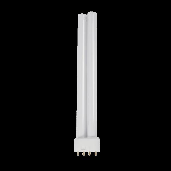 LED fénycső , 2G11 foglalat , 20W , 52 cm , hideg fehér , ELMARK