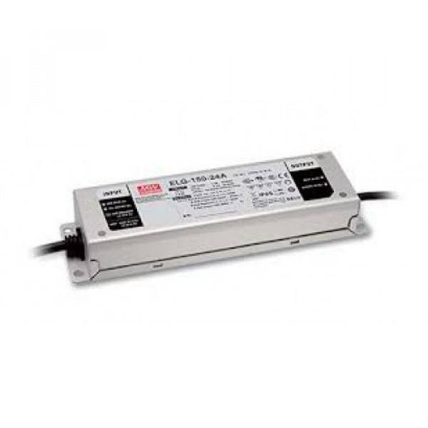 LED tápegység , Mean Well , ELG-150-12B , 12 Volt , 120 Watt , dimmelhető , IP65