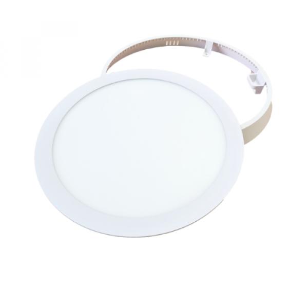RGB-CCT LED panel , 18W , falon kívüli , kerek , Mi-light kompatibilis