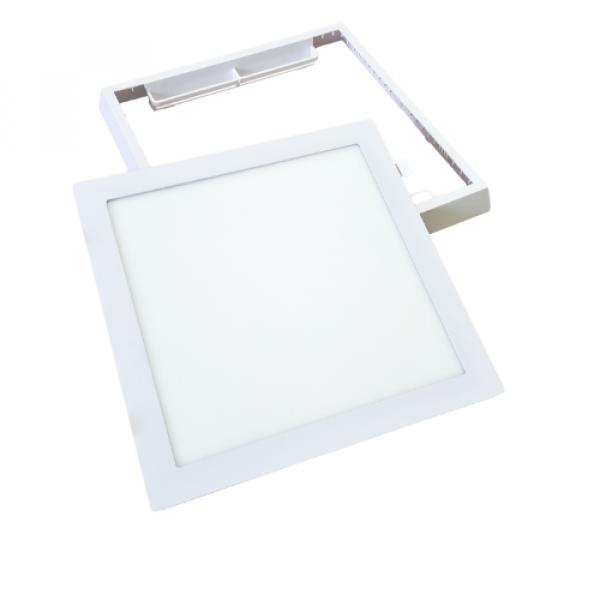 RGB-CCT LED panel , 18W , falon kívüli , négyzet , Mi-light kompatibilis