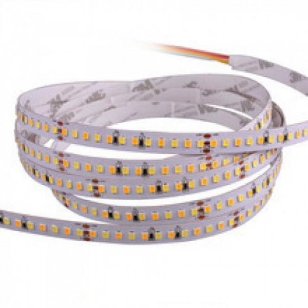 LED szalag , 2835 , 120 led/m , 9,6 Watt/m , állítható fehér színárnyalat , CCT